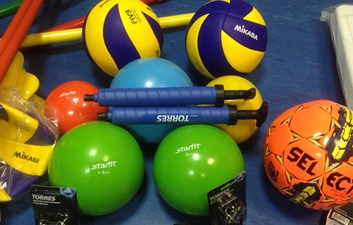 МБУ 'ВСШОР' была предоставлена субсидия из областного бюджета Ленинградской области на приобретение инвентаря и оборудования для спортивных школ